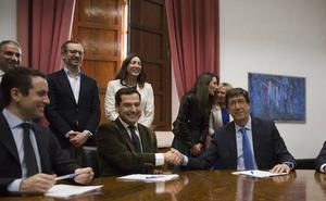 Los siete puntos del acuerdo entre PP y Ciudadanos para la investidura del Juanma Moreno