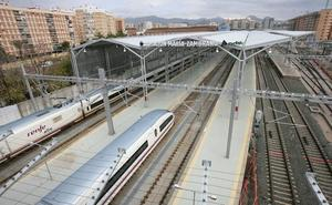 Adif licita el arrendamiento del Torreón Norte de la estación Málaga María Zambrano