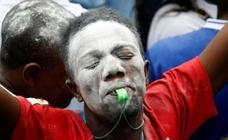 Las imágenes del resultado electoral en el Congo