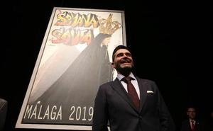 El grafiti se cuela en un cartel rompedor para la Semana Santa de Málaga