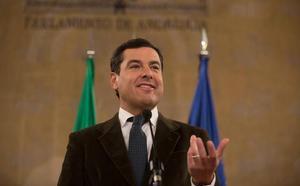 Juanma Moreno, confirmado como candidato para el debate de investidura del 15 y 16 de enero