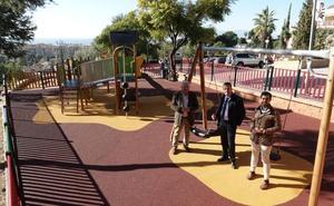 Así es el nuevo parque infantil de la barriada de Miraflores de El Palo