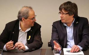 Esquerra cuestiona la autoridad de Torra y ahonda en la división en el Govern
