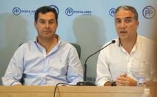 Bendodo afirma que Moreno aún no le ha planteado incorporarse al gobierno andaluz