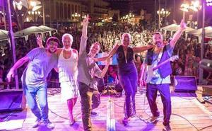 The Lito Blues Band graba una sesión en vivo en la ETSI de Telecomunicación