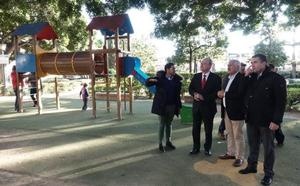 La zona Este estrena su mayor parque infantil, con un castillo y toboganes tubulares