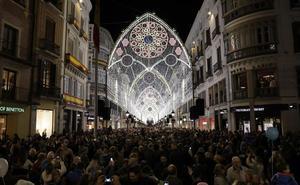 La Navidad deja en la ciudad de Málaga más de 1,1 millones de visitantes