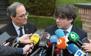 Torra y Puigdemont ceden y dejan a los partidos la decisión sobre las cuentas