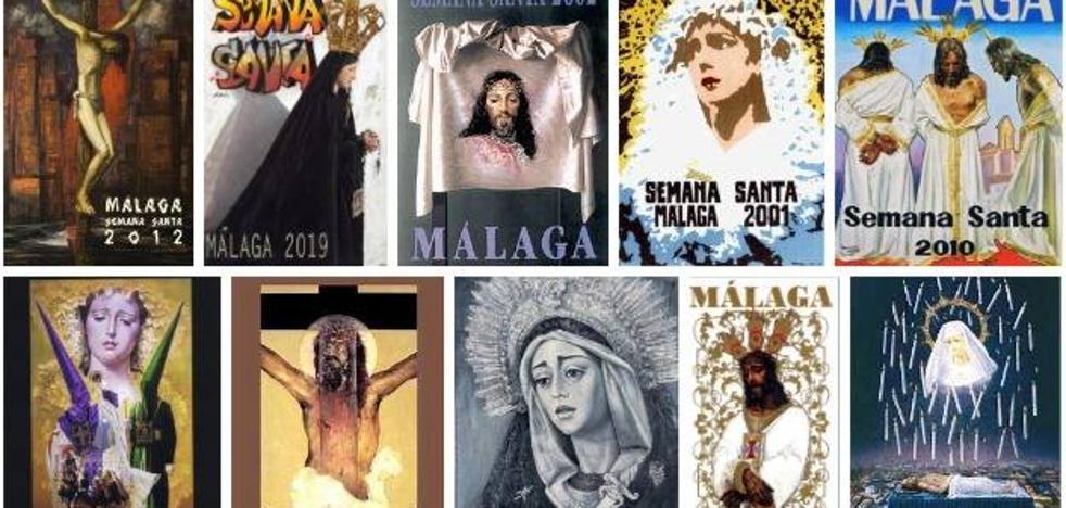 Encuesta | ¿Cuál es tu cartel favorito de la Semana Santa de Málaga de este siglo XXI?
