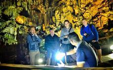 'Tito' descubre los secretos mejor guardados de la Cueva de Nerja