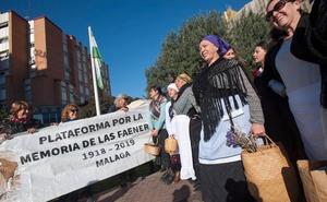 Marcha en memoria de las faeneras de Málaga