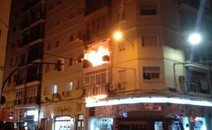 El incendio de un sofá provoca daños en una vivienda en Cruz del Molinillo