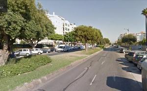 Tres hermanos detenidos por una pelea con dos heridos por arma blanca en una sala de la Avenida Molière de Málaga