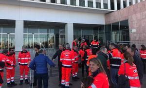 Un hombre agrede con un bastón a una médico del 061 que iba a atenderle en Málaga