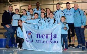El Nerja Atletismo, doble campeón de Andalucía a nivel absoluto