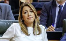 Díaz pide en una carta a los andaluces que se impliquen «al máximo» en combatir a la derecha
