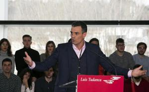 Sánchez emplaza a PP y Ciudadanos a que faciliten los Presupuestos por patriotismo
