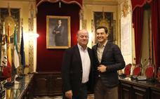 Antequera se ofrece para ser sede de la toma de posesión de Juanma Moreno como presidente de la Junta de Andalucía