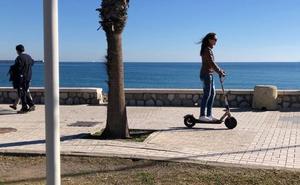 12 kilómetros por Málaga en patinete eléctrico