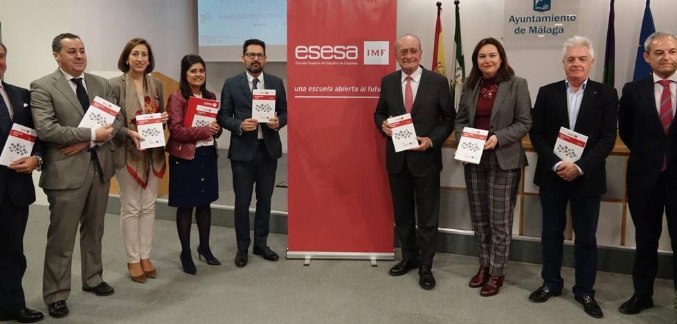 Málaga necesita doblar la superficie de espacios para oficinas si quiere competir en el gran mercado europeo