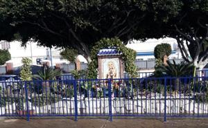 Protección a la Virgen del Carmen en El Palo