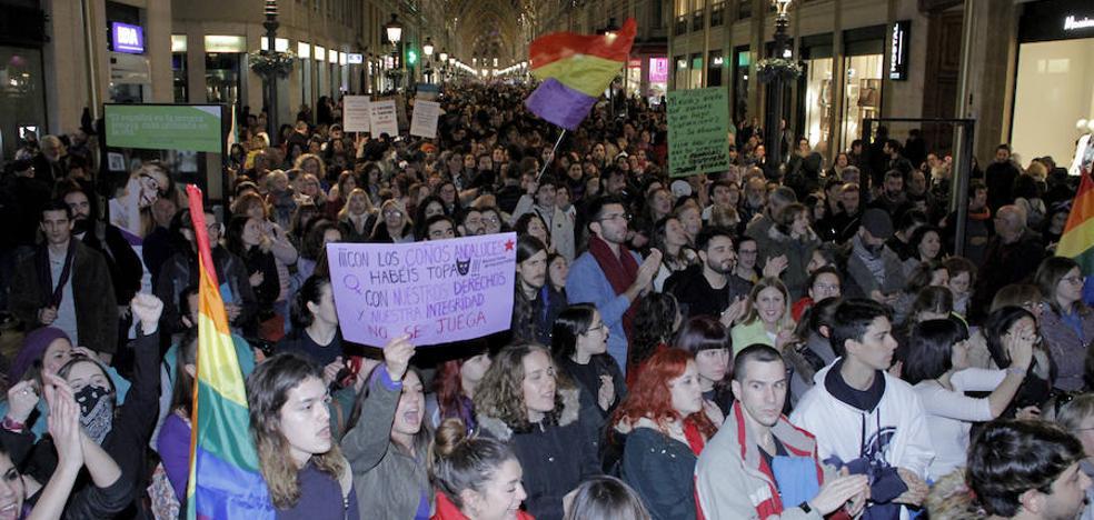 Miles de personas exigen en Málaga que no haya retrocesos en las políticas de igualdad