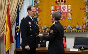 El nuevo comisario de Policía de Málaga asume el cargo con el punto de mira en la violencia de género y el crimen organizado