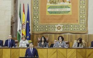 Moreno se compromete a cumplir el sueño de Antonio Garrido y proteger la cultura popular andaluza