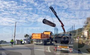 Se prevé que los trabajos para realizar el túnel perpendicular se inicien esta mañana