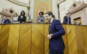 Juanma Moreno tiende la mano para un «cambio conciliador» en Andalucía