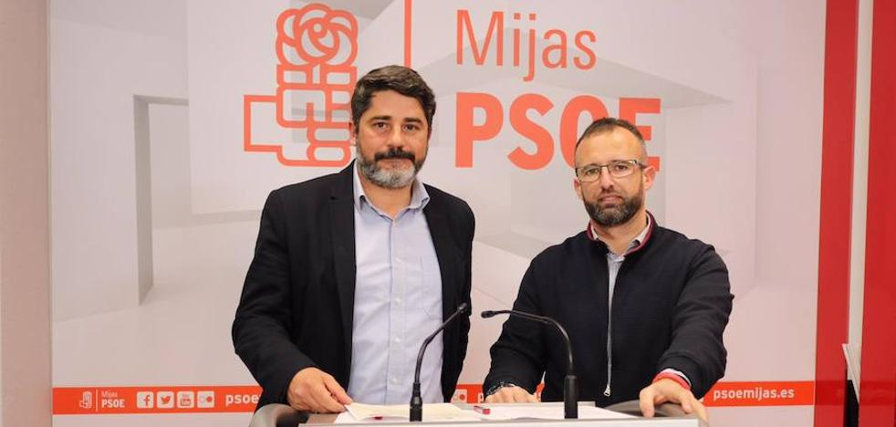 El PSOE urge a Maldonado a convocar la comisión de seguimiento del pacto en Mijas