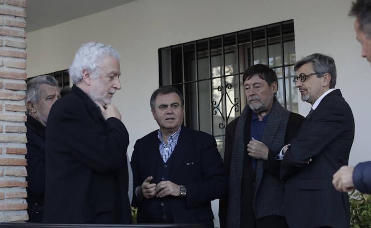 Funeral de Eduardo Martín Toval