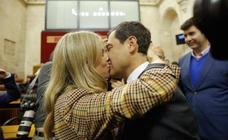 La investidura de Juanma Moreno como presidente de la Junta de Andalucía