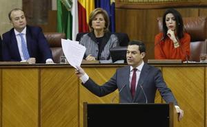 Juanma Moreno anuncia que el primer Consejo de Gobierno se celebrará en Antequera
