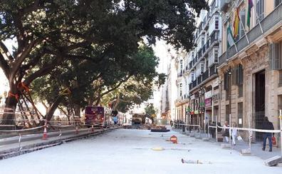 Urbanismo agiliza la obra de la Alameda con la meta puesta en la Semana Santa