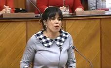 Teresa Rodríguez delega su voto al sentirse indispuesta tras su intervención en el debate