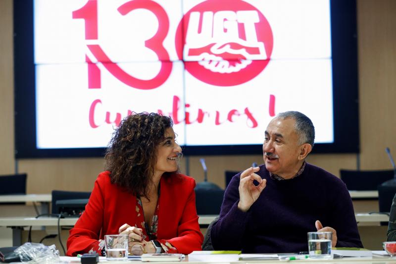 UGT deja entrever un acuerdo sobre pensiones «en los próximos días»