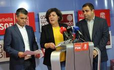«Desde el PSOE vamos a reclamar lo máximo, que no quepa duda»
