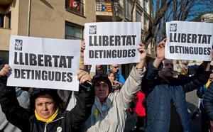 El independentismo advierte de que las detenciones en Gerona dificultan la tramitación de los Presupuestos