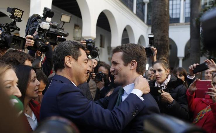 Toma de posesión de Juanma Moreno como presidente de la Junta de Andalucía