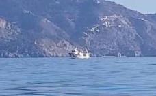 Denuncian la actuación de barcos arrastreros en el paraje natural de Maro