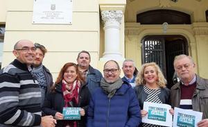 IU y Podemos lideran una confluencia de izquierdas con la ausencia de Málaga Ahora