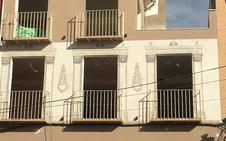 Un promotor imita las pinturas malagueñas del siglo XVIII en la fachada de un nuevo edificio