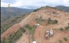 Vídeo | Así es el operativo de rescate de Julen visto con un dron