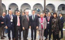 Malagueños en la toma de posesión de Juanma Moreno como presidente de la Junta