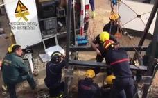 Vídeo | Los trabajos alrededor del pozo donde está Julen