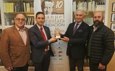 Ojén visita la Fundación Manuel Alcántara