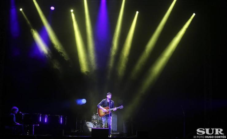 Así fue el concierto de Cepeda en Málaga