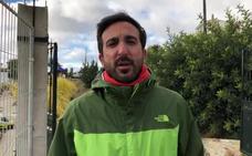 El periodista de SUR Álvaro Frías informa sobre las últimas novedades en Totalán