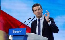 Aznar, Cospedal y Aguirre arropan a Casado en el cierre de la Convención del PP